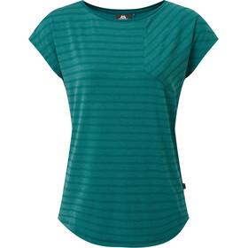 Mountain Equipment Silhouette T-shirt Dames, petrol